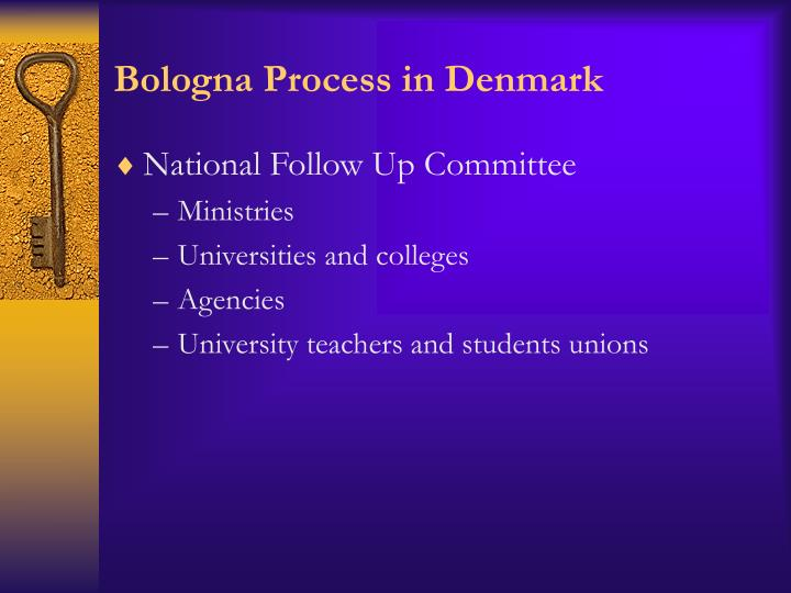 Bologna Process in Denmark