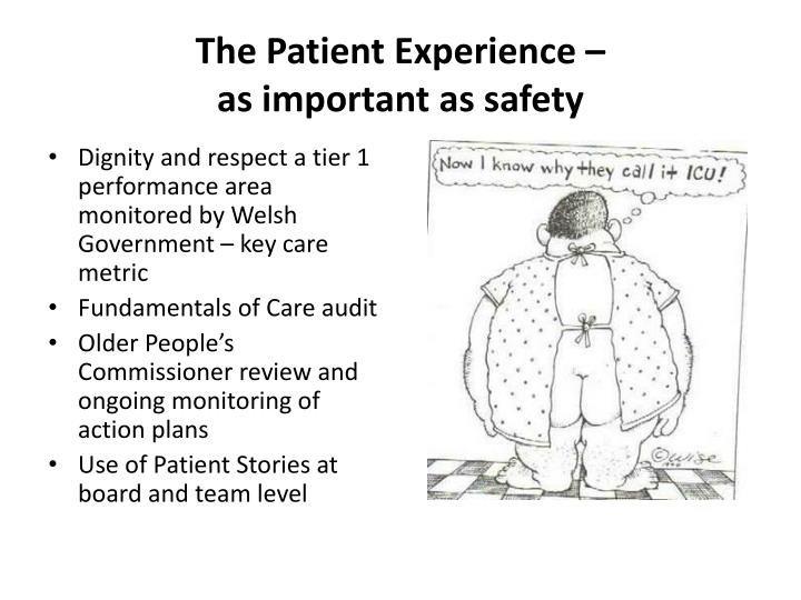 The Patient Experience –