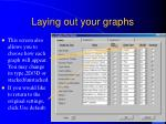 laying out your graphs