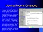 viewing reports continued2