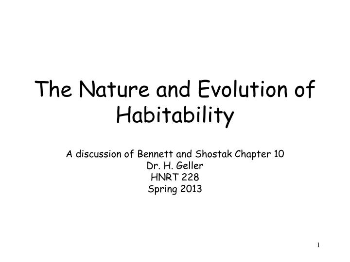 a discussion of evolution Anne m linn (study director), national research council this report brief was prepared by the national research council based on the committee's report, origin and evolution of earth: research questions for a changing planet (2008.