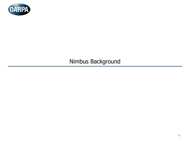 Nimbus Background