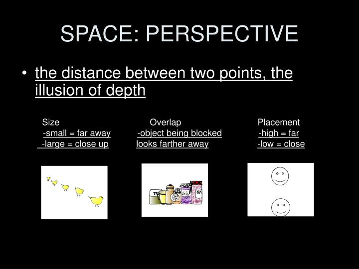 SPACE: PERSPECTIVE