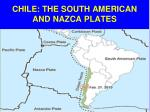 chile the south american and nazca plates