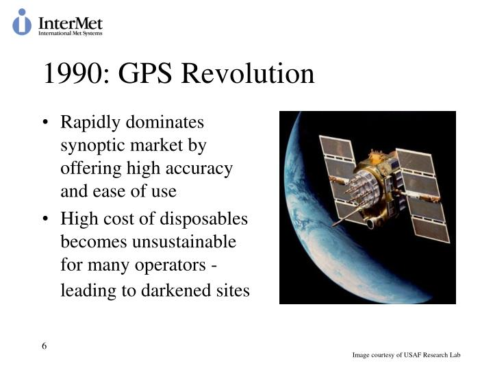 1990: GPS Revolution