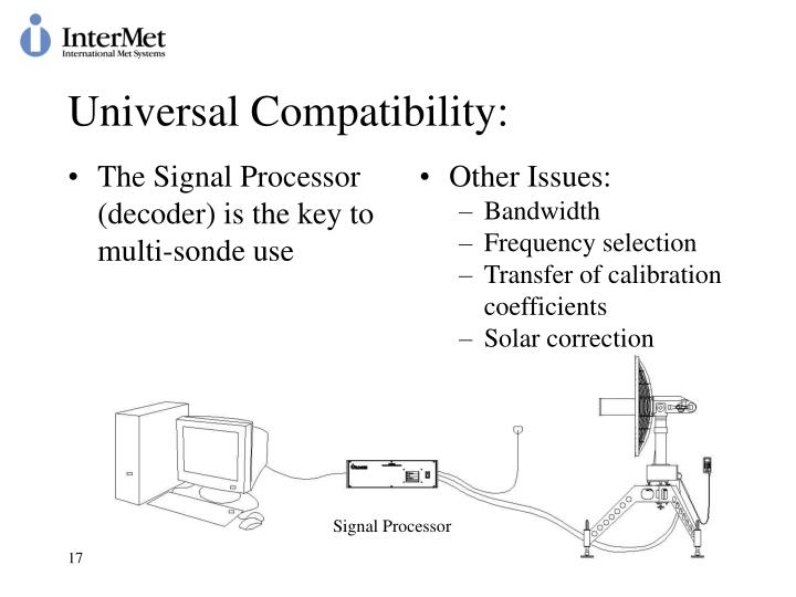 The Signal Processor (decoder) is the key to multi-sonde use