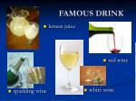 famous drink
