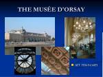 the mus e d orsay