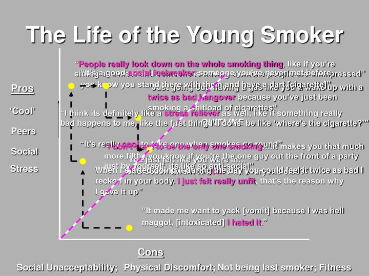 The Life of the Young Smoker
