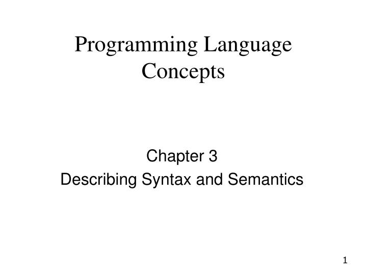 what concepts in this chapter are Recognition devices, however, are not used to enumerate all of the sentences of a language—they have a different purpose the syntax analysis part of a compiler is a recognizer for the language the compiler translates in this role, the recognizer need not test all possible strings of characters from.