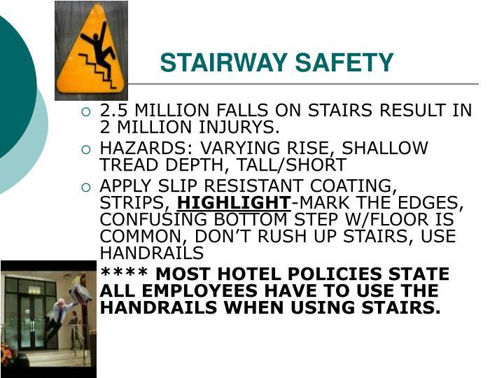 STAIRWAY SAFETY