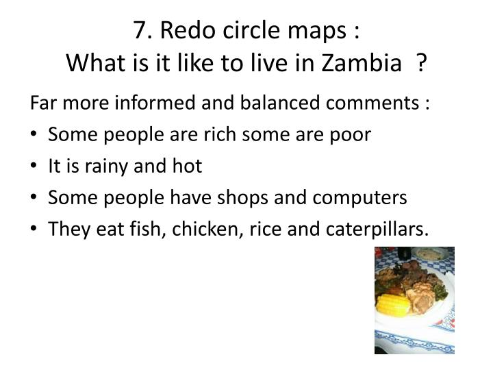 7. Redo circle maps :