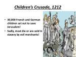 children s crusade 1212