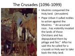 the crusades 1096 1099