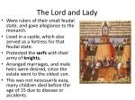 the lord and lady