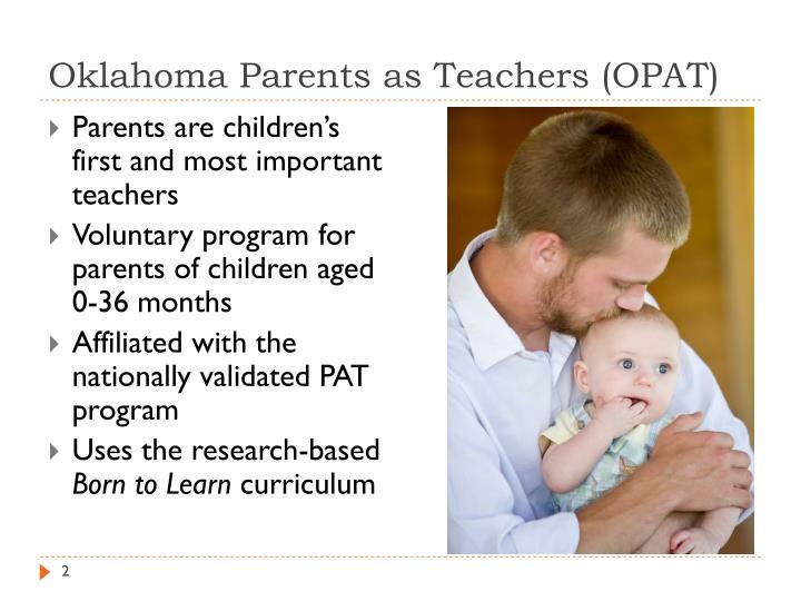Oklahoma parents as teachers opat1