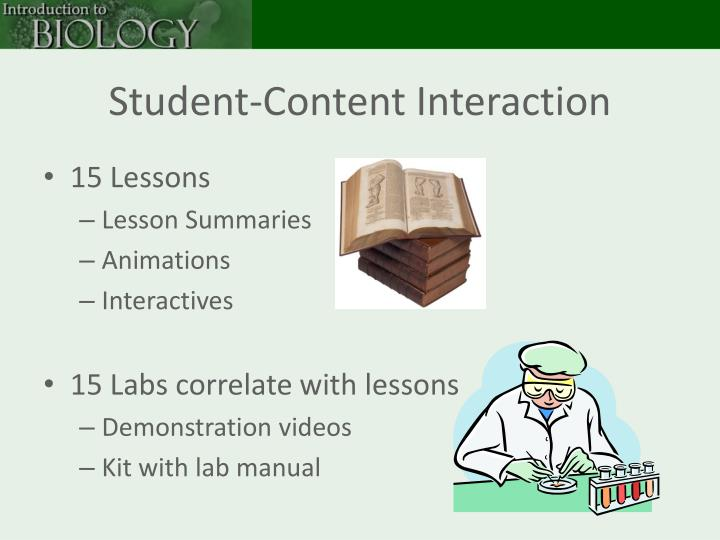 Student-Content Interaction