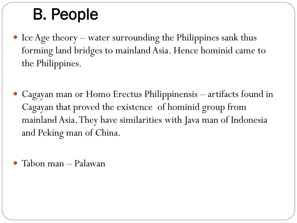 PPT - Theories of Origins of Filipino Language and People