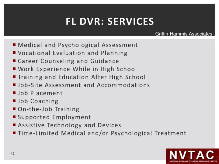 FL DVR: SERVICES