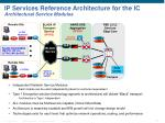 ip services reference architecture for the ic architectural service modules
