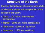 structure of the earth1