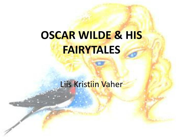 oscar wilde and his fairy tales