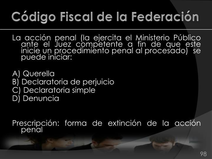 Código Fiscal de la Federación