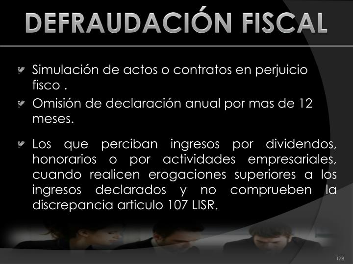 DEFRAUDACIÓN FISCAL