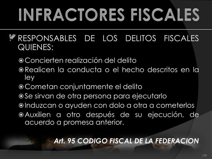 INFRACTORES FISCALES