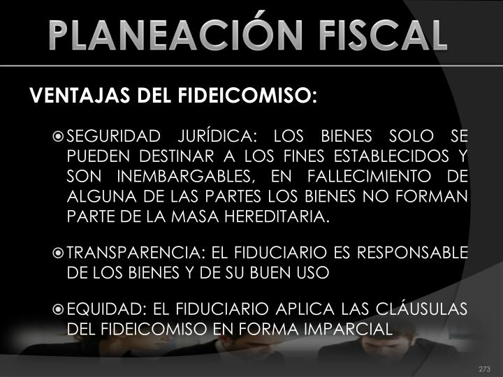 PLANEACIÓN FISCAL