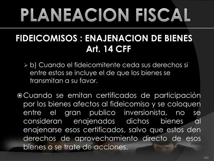 PLANEACION FISCAL