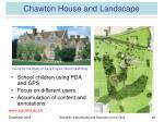 chawton house and landscape