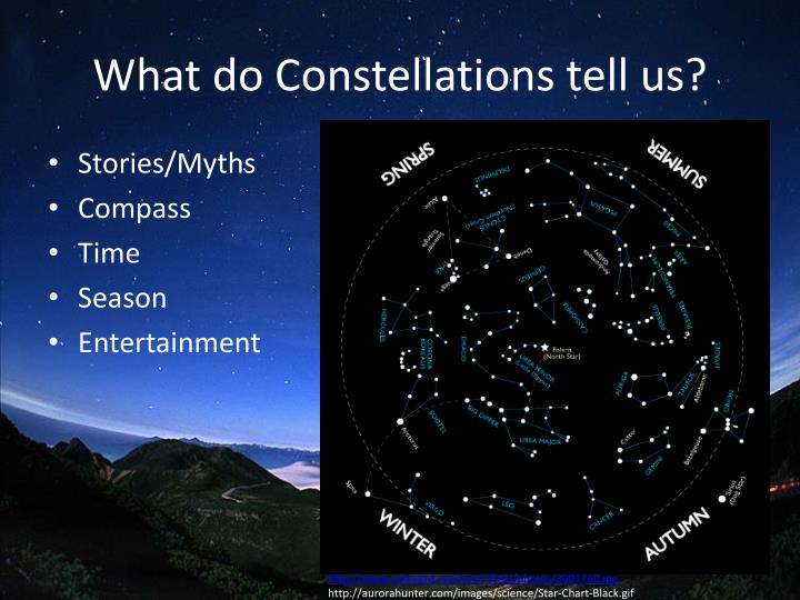What do constellations tell us