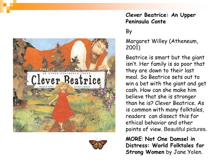 Clever Beatrice: An Upper Peninsula Conte