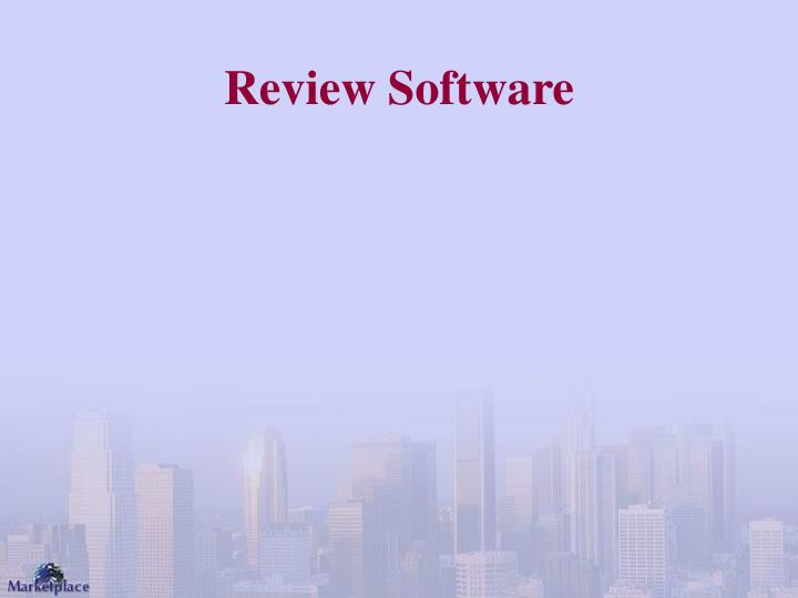 Review Software