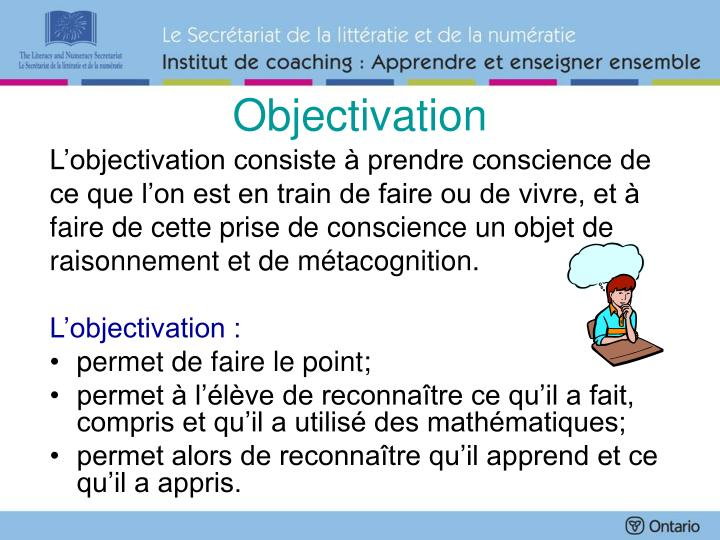 Objectivation