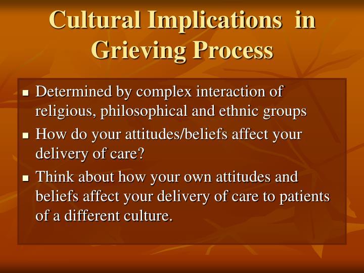 Cultural Implications  in
