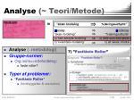 analyse teori metode1