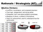 rationals strategists nt