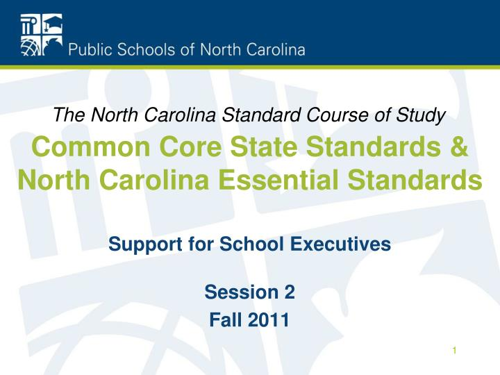 common core state standards north carolina essential standards n.