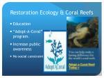 restoration ecology coral reefs3