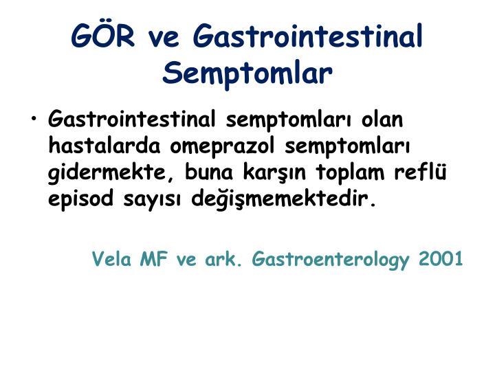 GÖR ve Gastrointestinal Semptomlar