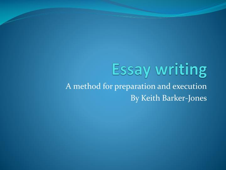 essay writing ppt presentation Phd thesis defence presentation ppt whether you are an executive, student, manager, supervisor, team leader or a job candidate seeking your next offer of employment, our expert resume and essay writers.