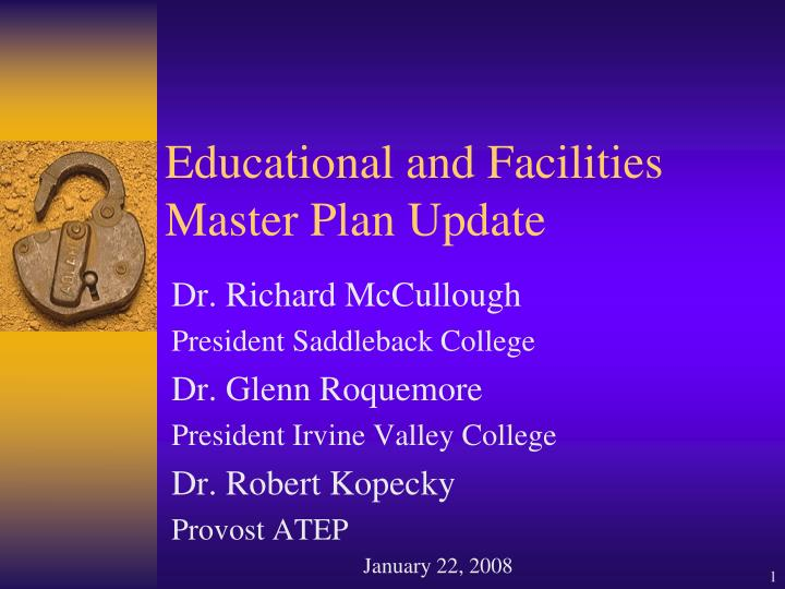 educational and facilities master plan update n.