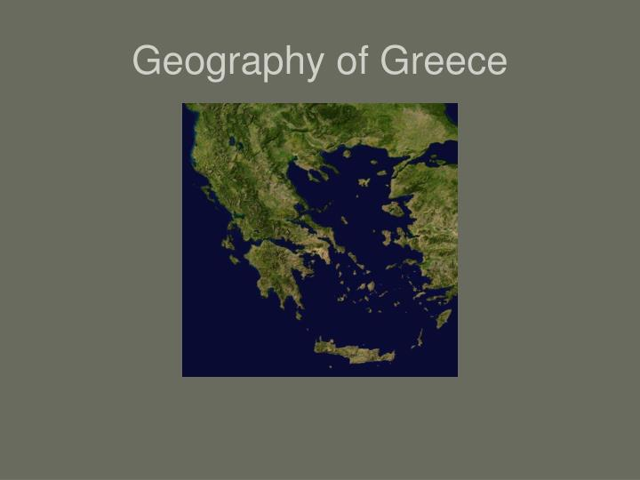 an overview of the geography of greece in southern europe