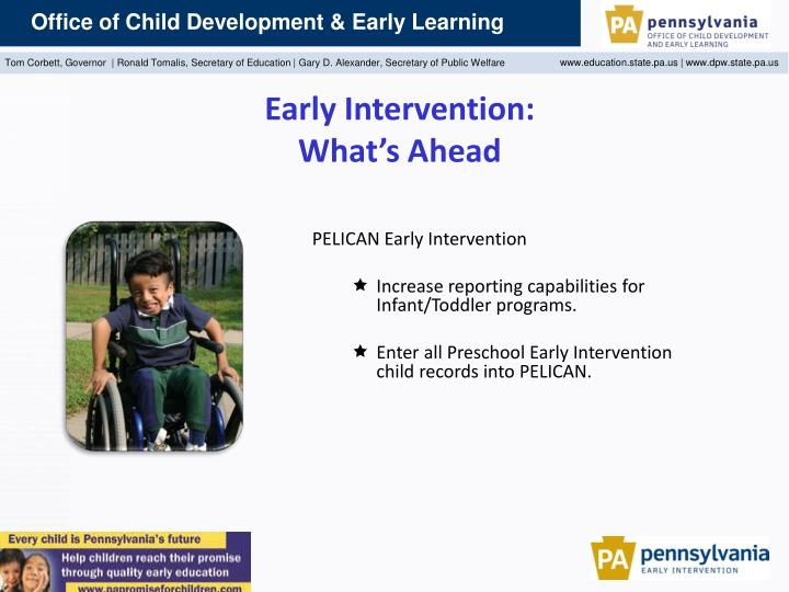 Early Intervention: