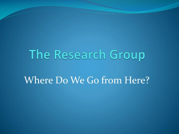 The Research Group