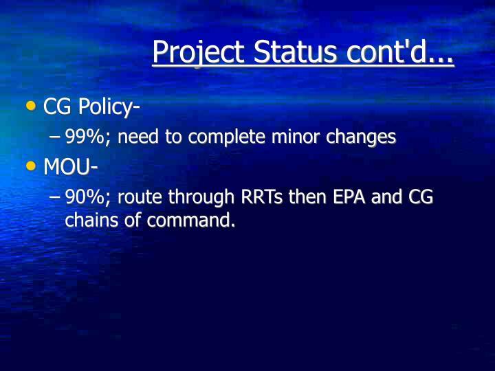 CG Policy-