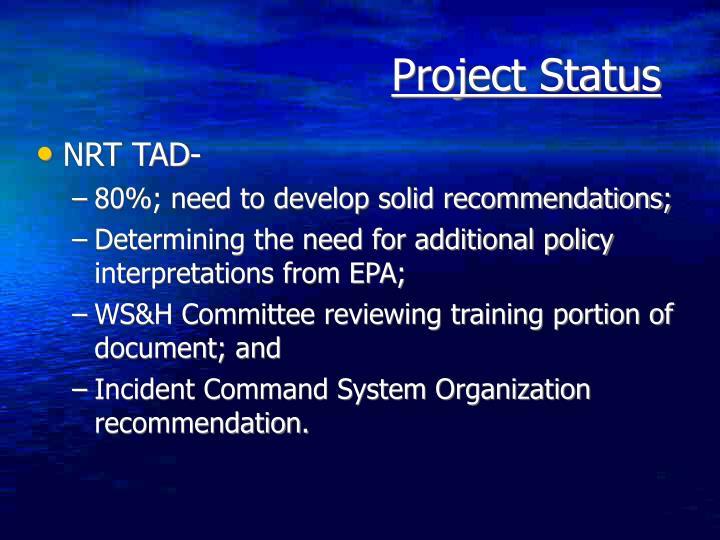 NRT TAD-