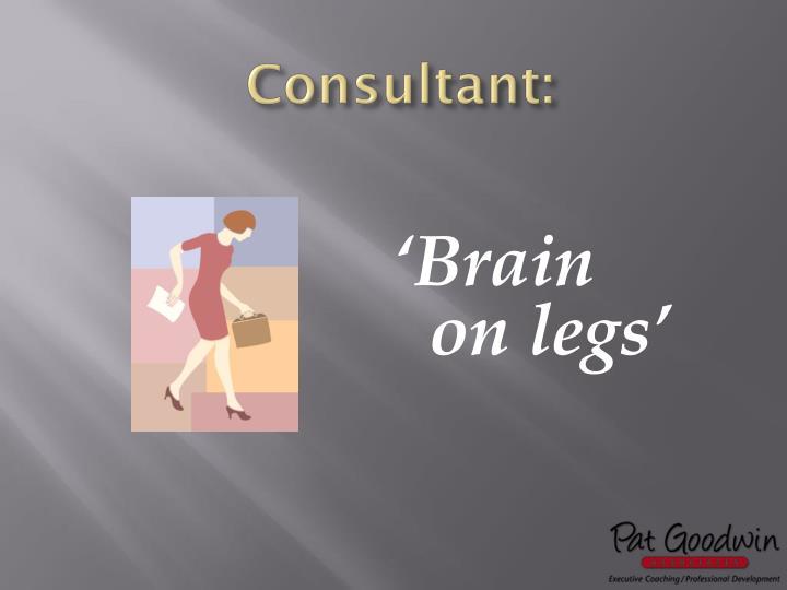 Consultant: